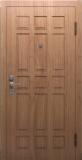 Стальная дверь Профессор 3 (кипарис беленый)